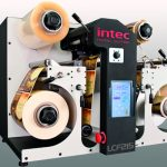 Intec LCF215 label cutter finisher