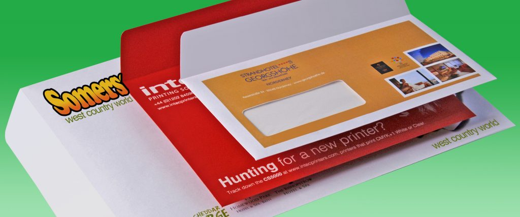 ColorSplash CS5000 envelope types