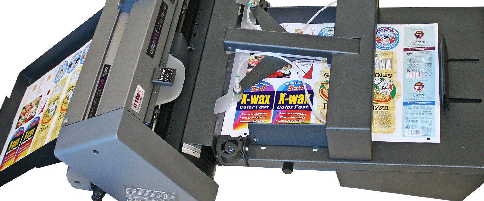 Sheetfed Label Cutting Amp Finishing Intec Printing