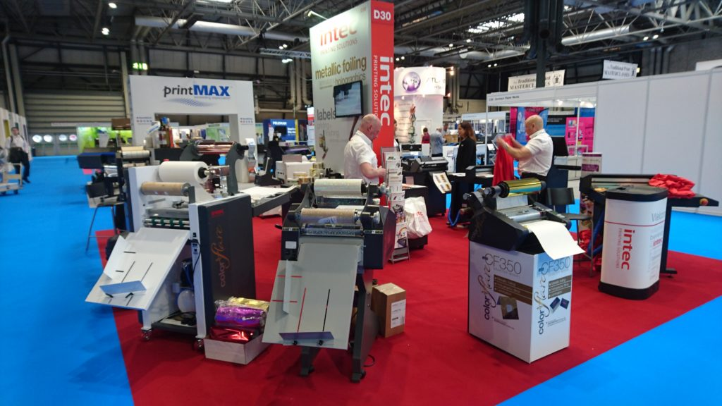 Intec Stand D30 at The Print Show 2018