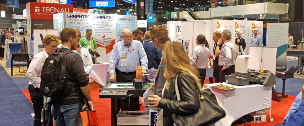 Intec USA stand at Print 18