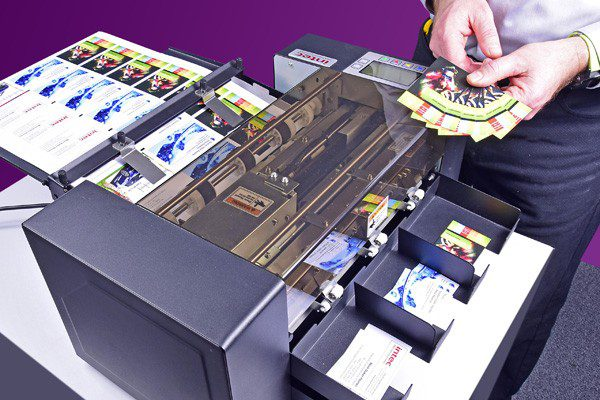 ColorCut BC480 business card cutter