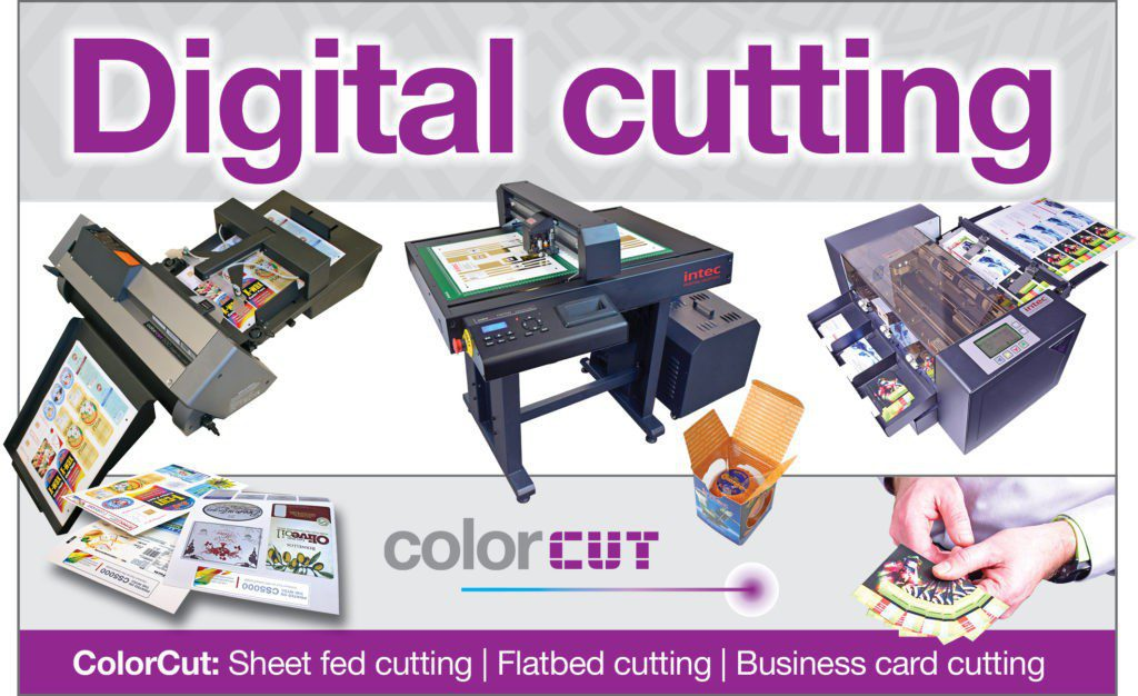 Digital cutting with Intec ColorCut devices