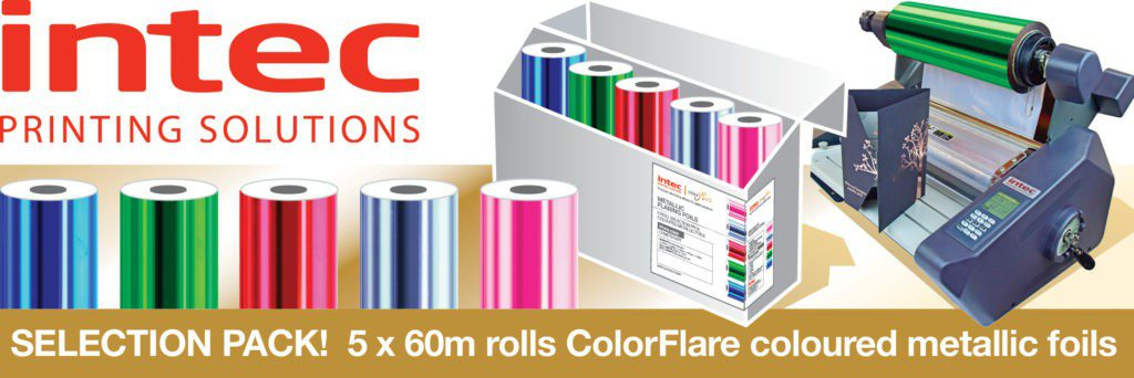 Intec colorflare selection pack