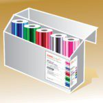 Intec ColorFlare metallic foils Selection Pack