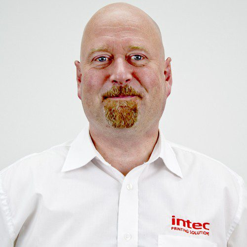 Intec Andy Withall Customer services engineer & training