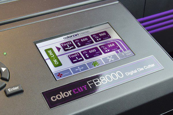 Intec FB8000 Generation 2 touch screen controls