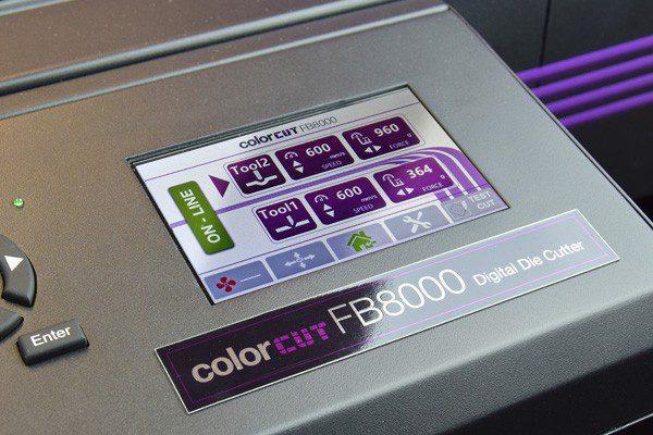 Intec FB8000 Generation 2 touch screen controls