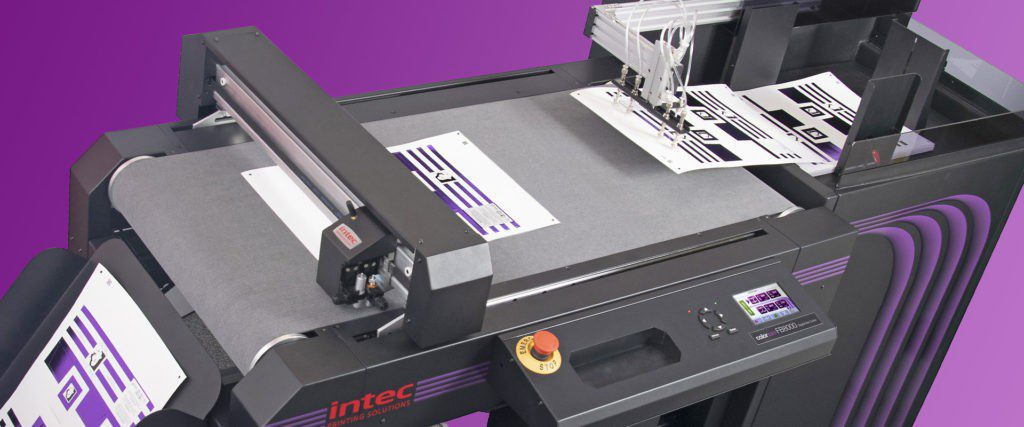 Intec ColorCut FB8000 Generation 2 auto sheet fed flatbed cutter