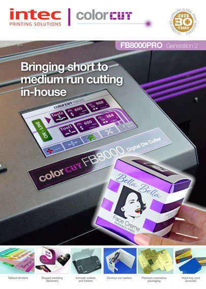 ColorCut FB8000 Gen 2 brochure thumbnail