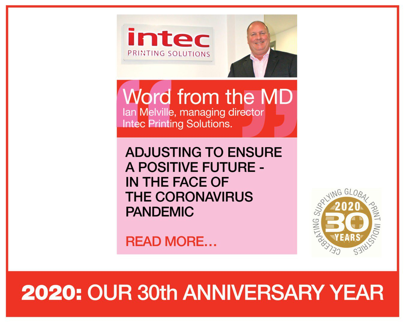 Intec MD speaks about Intec bright future in the face of the coronavirus pandemic
