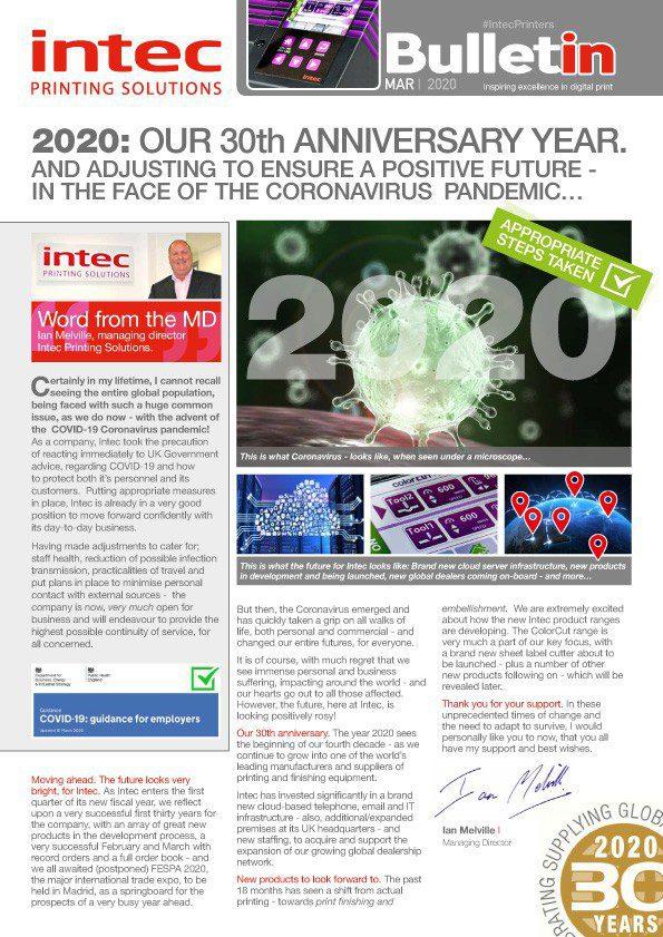 Intec March 2020 Bulletin