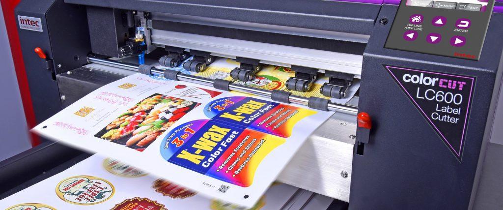 Intec ColorCut LC600 cutter