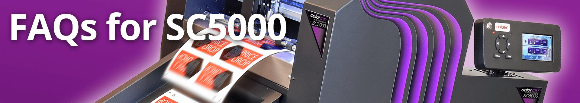FAQ SC5000 slice